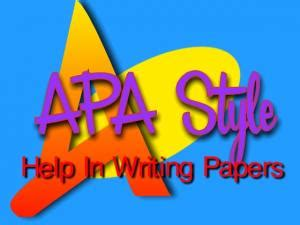 College research paper apa example